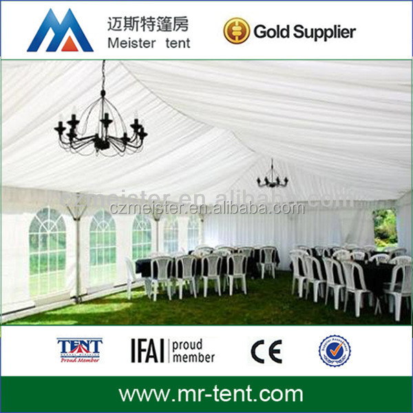Outdoor pvc canopy event tent for wedding