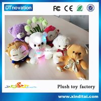 night light stuffed animals talking plush toy