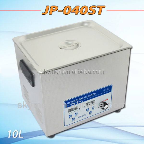 skymen Adopts Digital Display Timing and change Heating Function, with 80-240W Power adjust ultrasonic cleaner 10l 60khz