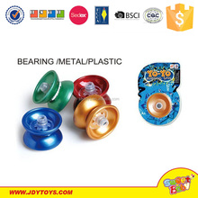 Hot Sale cheap yoyo ,flash light in 7 colors bearing,metal and plastic yoyo