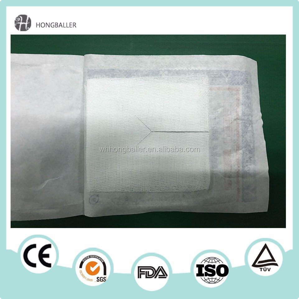 Manufacture Wholesale Non Woven Medical Sponge