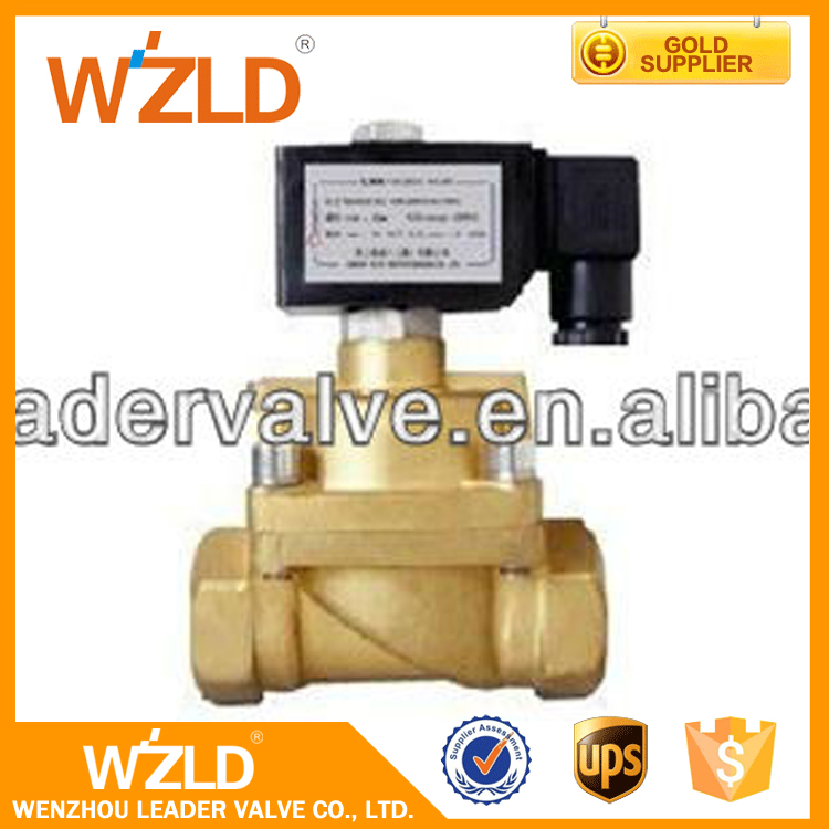 WZLD From Proffesional Yueqing Factory Mini Hydraulic Ball Brass Water Solenoid Valve