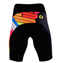 2015 colorful custom made high sublimation cycling short men