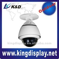 Intelligent Mini Analog Outdoor 10X Zoom High Speed Dome PTZ Camera