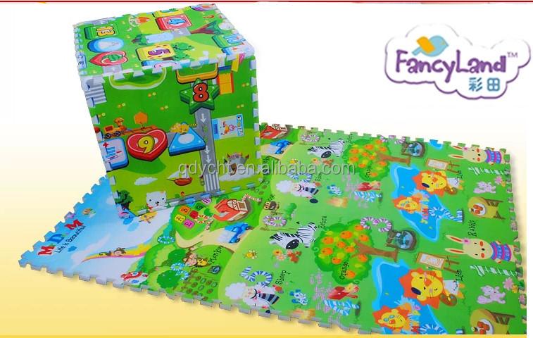 Spielmatte baby puzzle
