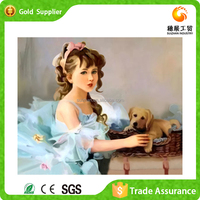 Manufacturer supply economical luxury gift for interior decoration 5d diy diamond painting