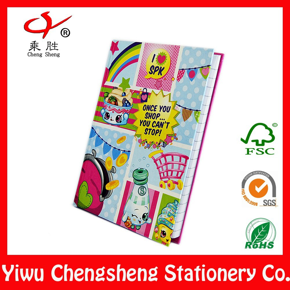 Cheap plain wholesale a5 school notebook