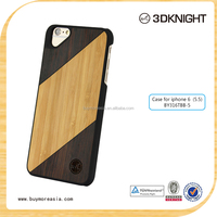 High quality mobile wooden phone case/shell,bamboo phone case/shell, engraving your own design for iphone 6s plus