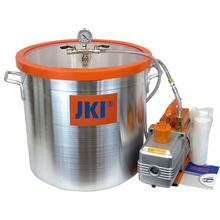 20 Liter Lab Stainless Steel Vacuum Degassing Chamber Vacuum Purge With Polycarbonate Lid
