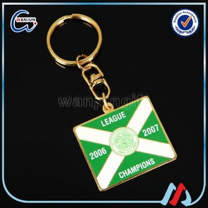Promotional unusual Alphabet Keyring