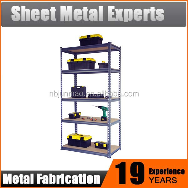 Wholesale home storage warehouse racks 5 tier metal shelving unit