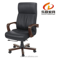 chairs with writing used Big Man's Office Chair Worksmart Leather Chair H-815A
