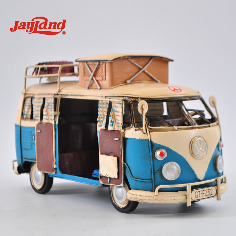 Handmade Metal Bus Model Vintage <strong>Decoration</strong>