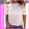 Top Sale White Off Sleeves Blouse Ladies Wholesale