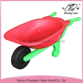 Outdoor cheap plastic garden various types of wheel barrow