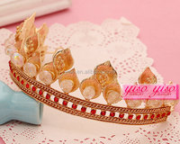 romantic wedding wholesale pearl wedding tiara
