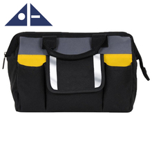 High Capacity Quality 600D Polyester Tote Garden Electrician Tool Bag