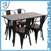 Modern Wooden Material Dining Table And