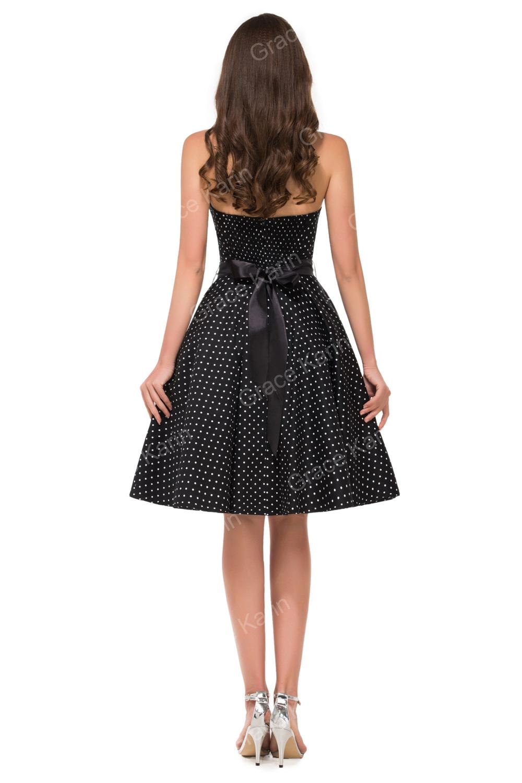 Grace Karin Fashionable Retro Style Cotton 50s Polka Dots ...