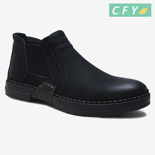 2018 Hot sale newest men's comfortable working footwear online high quality flat walking shoes with blank logo