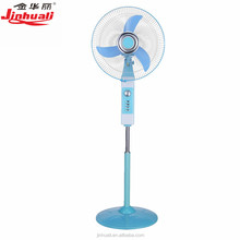 factory direct 12V led solar battery fans 16inch table rechargeable gfc fan