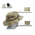 Tactical Boonie Hat with Map Pocket Chin Strap