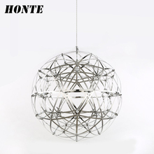 Wholesale 3000K dining room ball shape chandelier, modern decorative pendant light