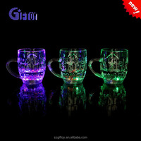 liquid activity led drinking glass