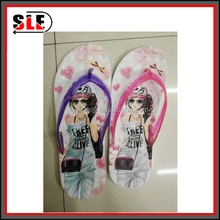 2015 womens fashion design cheap promotion flip flops comfortable beach China price eva slippers