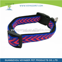Beautiful new design fashionable pet collar making supplies for outdoor activities