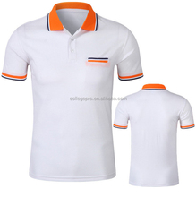 Custom high quality cotton men's polo t shirt with brand logo