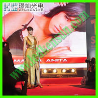 indoor SMD video full color led screen 2r led curtain box