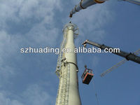 stainless steel double wall industry chimney for big stove project