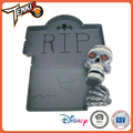 Tableware-Skull Plate Wholesale Halloween Skull Child Toy Game