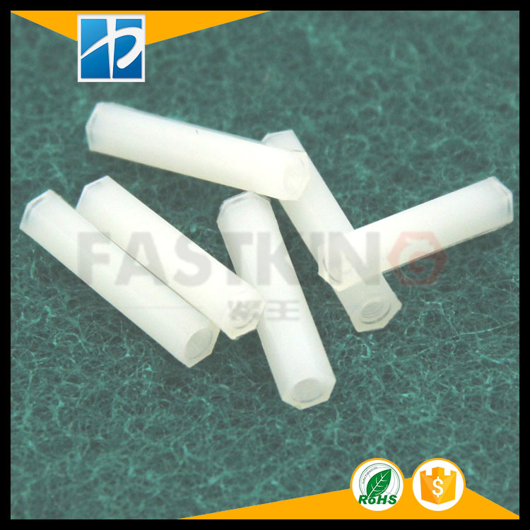 Hexagonal nylon column/single through nylon column/Yin Yang single head nylon column