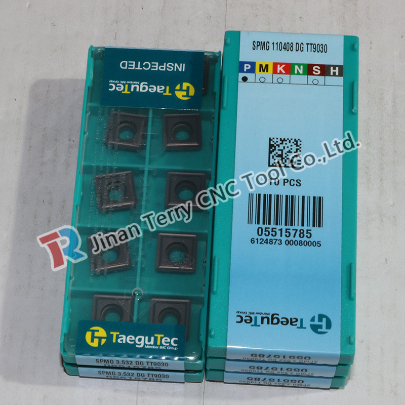 TaeguTec best selling products in europe carbide insert SPMG 110408 DG TT9030