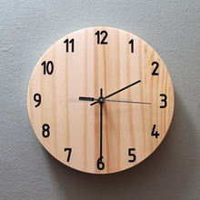 Custom made wooden framed clocks