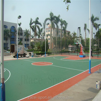 High School synthetic spu basketball court covering prices sports flooring