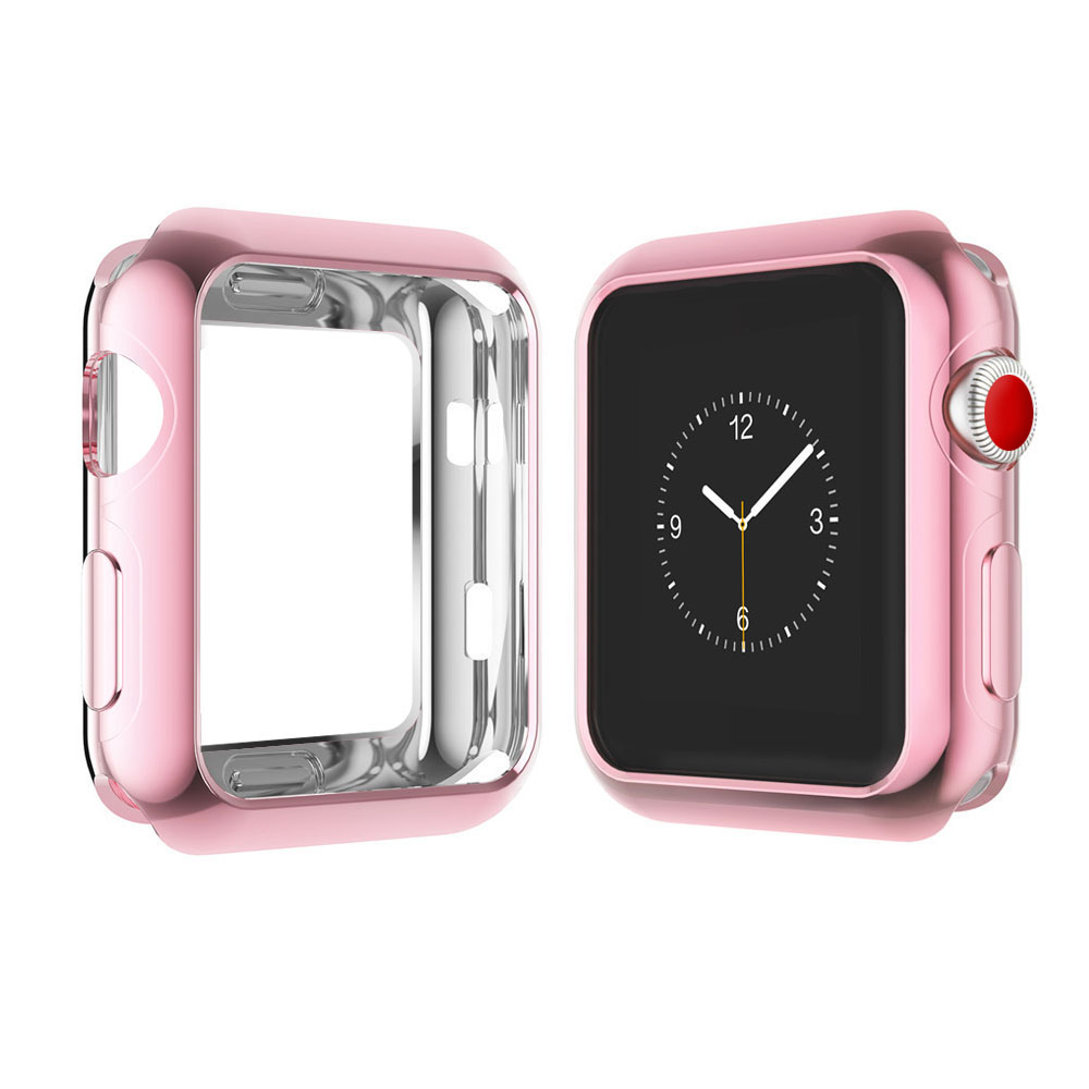 2018 custom-made latest ultra Thin Anti-scratch plating watch case for Apple