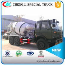 Dongfeng 6x6 All-wheel Drive Army Military Concrete Cement Mixer Truck Manufacturer