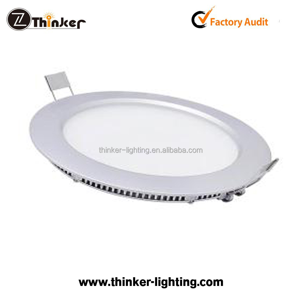 High quality Dimmable small size 155mm 12W led round panel light