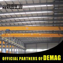 Frequency Conversion Electric Single 12T Rails Travelling Overhead Crane Price With Sensors