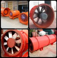 2015 hot selling FBCZ Mining Anti-explosive Axial Flow Fan (extraction type)