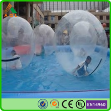 Kids funny inflatable water games water ball on the pool/ ball to walk on water