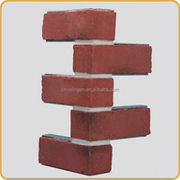 Extruded polystyrene brick wall panel
