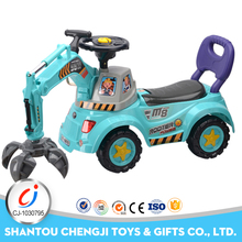 Shantou factory remote control new ride on excavators for kids