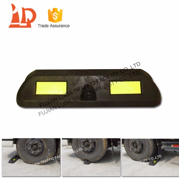 Heavy Duty New Synthetic Car Stop With For Sale