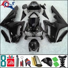 675 2008 2007 2006 For Triumph Daytona 675 all brilliant black pure black fairing 2006 2008 2007 ABS Aftermarket Fairings Set 11