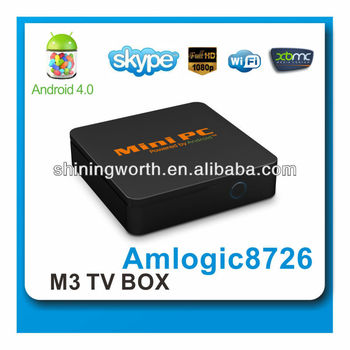 android 4 0 tv box wifi media player