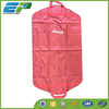 Nylon material red suit cover garment bag